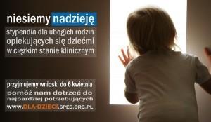 Stypendia SPES - plakat